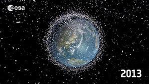 Image result for space debris