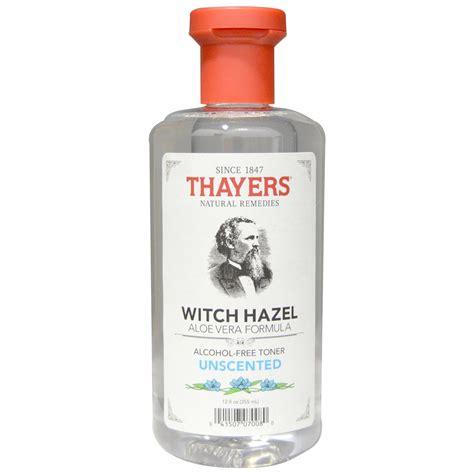witch hazal thayers alcohol free toner unscented witch hazel with aloe vera formula 12 fl oz 355 ml