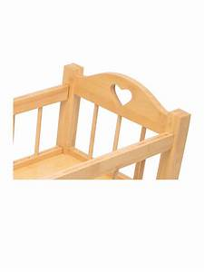 Dolls Wooden Rocking Cradle Crib Cot Girls Preschool ...
