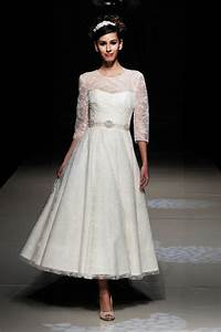 wedding dresses designs photos pictures pics images tea With tea length dresses wedding