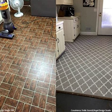 Best 25  Painted vinyl floors ideas on Pinterest   Floor