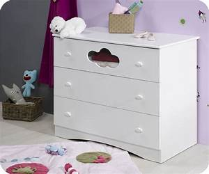 commode bebe altea blanche achat vente commode a With déco chambre bébé pas cher avec livraison composition florale