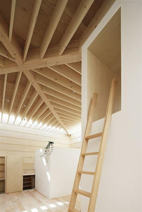de cuisine light maison moderne japonaise en bois