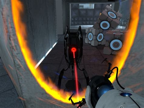 portal  defective turret portal skin mods