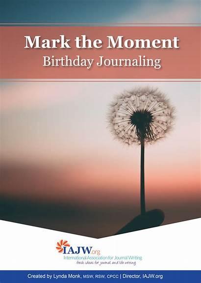Moment Journaling Tool Mark Birthday Writing