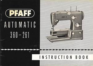 Pfaff Automatic Sewing Machine 360