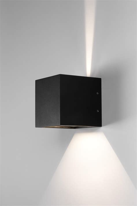 cube led wall lights from light point architonic