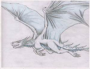 Flying Ice dragon collab by Ark-Noir on DeviantArt
