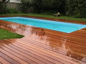 Terrasse Bois Exotique : lames de terrasse en bois exotique cumaru grandes ~ Melissatoandfro.com Idées de Décoration
