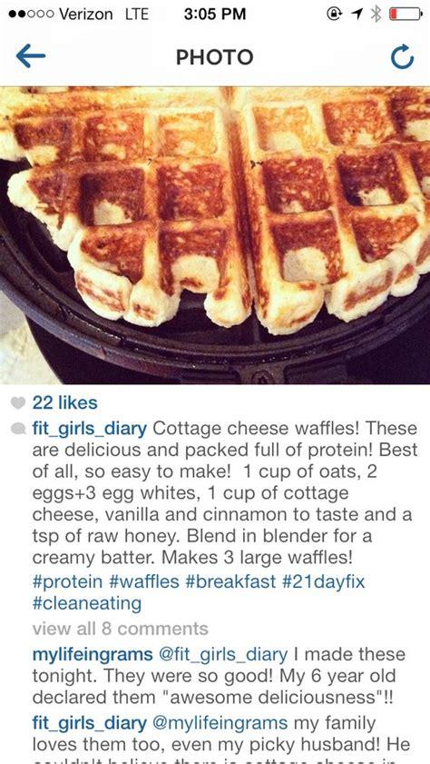 cottage cheese waffles cottage cheese waffles food healthy