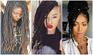 2017 Dreadlock And Sisterlock Hairstyles For Black