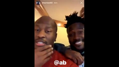 Amidst Steelers controversy, Antonio Brown and James ...