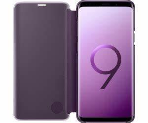 Angebote Samsung Galaxy S9 : samsung clear view standing cover galaxy s9 violett ab ~ Jslefanu.com Haus und Dekorationen