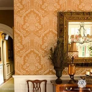 Classic Stencils & European Design Stencils for Walls and