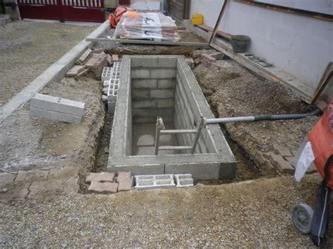 construction d une fosse