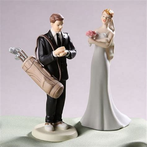 funny wedding cake toppers     lol
