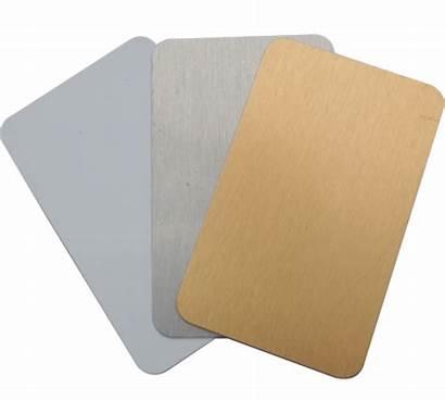 Edge Business Metal Plain Cards Card 4cm