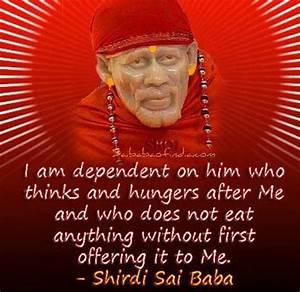 SAI BABA QUOTES... Shirdi Sai Motivational Quotes