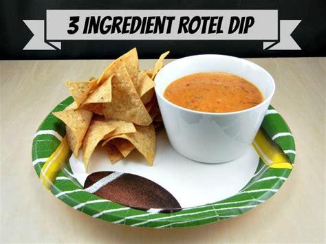 ingredient sausage rotel dip recipe