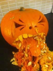 Puking Pumpkin Carving Patterns Free by Vomiting Pumpkin Halloween Pinterest Pumpkins
