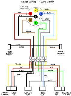Toyotum 4runner Wiring Diagram Lifier by Trailer Wiring Diagram 7 Wire Circuit Truck To Trailer