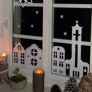 Fensterdeko Weihnachten Kinder : ines felix kreatives zum nachmachen weihnachts fensterdeko aus papier ~ Yasmunasinghe.com Haus und Dekorationen