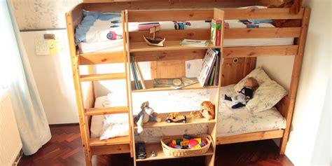 bunk bed shelf clip on bunk bed shelf bamboo furniture