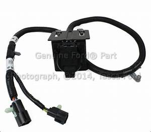 New Oem Trailer Tow 7 Pin Wire Wiring Harness Connector