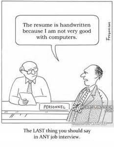 Computer Skills Cartoon