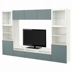 Besta Tv Schrank : best tv schrank kombination glast r wei grau valviken t rkis transparentes glas ~ Watch28wear.com Haus und Dekorationen