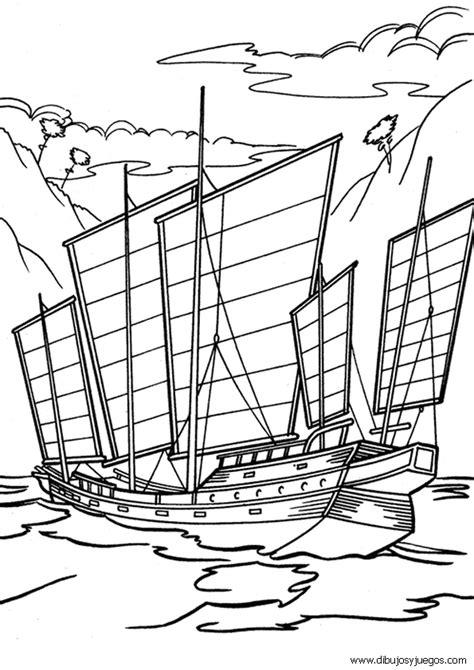 Imagenes De Barcos De Barbie by Dibujo De Barcos Con Velas Para Colorear 012 Dibujos Y