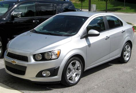 2012 Chevrolet Sonic 4-door Sedan Ls 2ls
