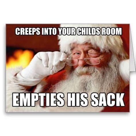 Rude Funny Memes - rude santa greeting card in the style of popular internet memes wedding pinterest popular