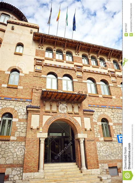 spain malaga university rectory andalusia madrid henares alcala office college