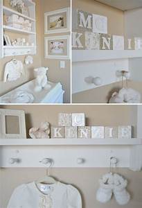 neutral nurseries nurseries and guest rooms on pinterest With soft letters for nursery wall