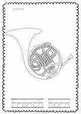 Musical Instrument Instruments Teacherspayteachers sketch template