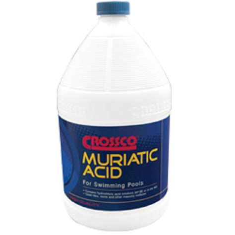 crossco  gal muriatic acid    home depot