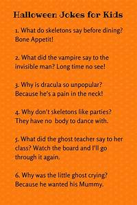 Cute Halloween Jokes For Kids
