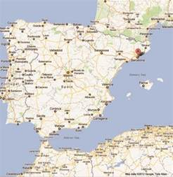 Barcelona Spain Map Google