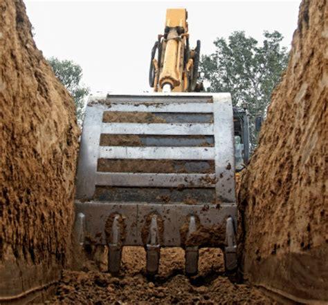 risk assessment method statement  trench excavation