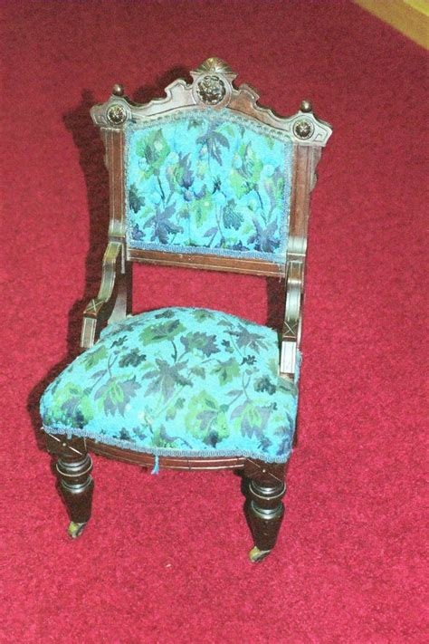 antique stools for mini eastlake upholstered chair circa 1890 dr lori 4132