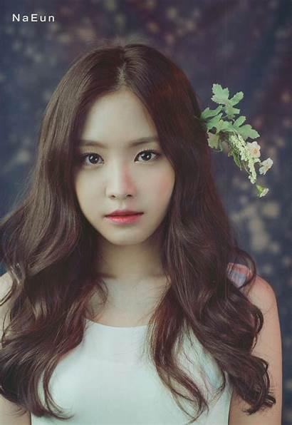 Son Eun Na Naeun Hair Apink Pink