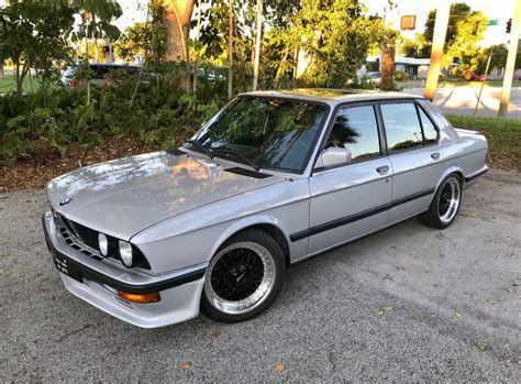 Euro 1983 Bmw 525i 5speed For Sale On Bat Auctions