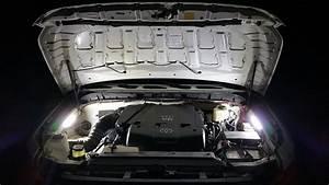 Underhood Engine Compartment Light Setup    Simple