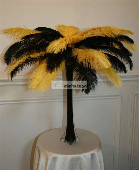 wholesale mixsorted color ostrich feather centerpieces