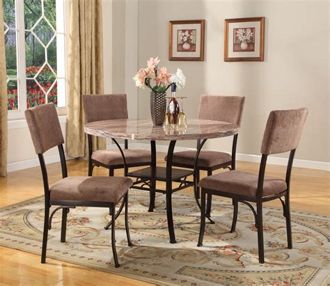 5 dining room sets roundhill furniture dining room sets 5pc picture 5