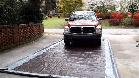 Diy Garage Floor Mat by Make Your Own Car Wash Mat