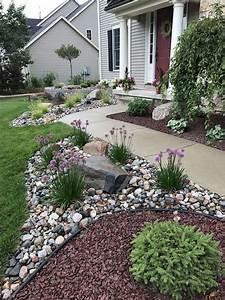 genius, low, maintenance, rock, garden, design, ideas, for, frontyard, and, backyard, , 37