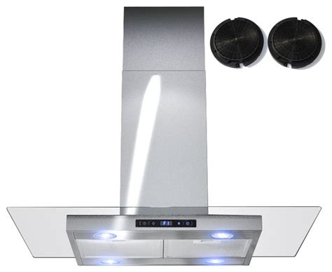 30 Inch Ductless Cabinet Range by Gv 30 Inch Stainless Steel Island Range W Carbon