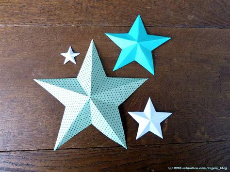 Druckvorlage Und Faltanleitung 3d Sterne